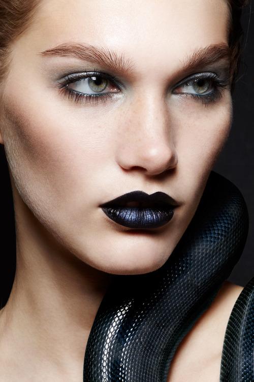 Beauty Makeup Face Closeup Alena Moiseeva