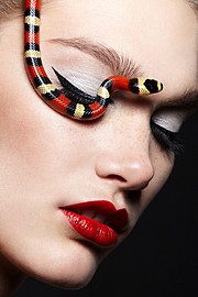 Alena Moiseeva makeup artist & hair stylist (визажист & парикмахер-модельер). Work by makeup artist Alena Moiseeva demonstrating Beauty Makeup.Face CloseupBeauty Makeup Photo #57722