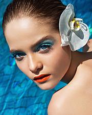 Alena Moiseeva makeup artist & hair stylist (визажист & парикмахер-модельер). Work by makeup artist Alena Moiseeva demonstrating Fashion Makeup.Fashion Makeup Photo #57716
