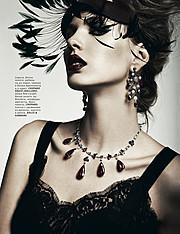 Alena Moiseeva makeup artist & hair stylist (визажист & парикмахер-модельер). Work by makeup artist Alena Moiseeva demonstrating Fashion Makeup.Fashion Makeup Photo #57733