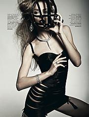 Alena Moiseeva makeup artist & hair stylist (визажист & парикмахер-модельер). Work by makeup artist Alena Moiseeva demonstrating Fashion Makeup.Fashion Makeup Photo #57734