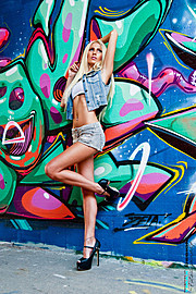Alessandra Gengaro model. Photoshoot of model Alessandra Gengaro demonstrating Fashion Modeling.Fashion Modeling Photo #130323