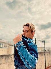 Alessandro Farrugia model. Photoshoot of model Alessandro Farrugia demonstrating Fashion Modeling.Fashion Modeling Photo #230521