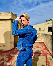 Alessandro Farrugia model. Photoshoot of model Alessandro Farrugia demonstrating Fashion Modeling.Fashion Modeling Photo #230660