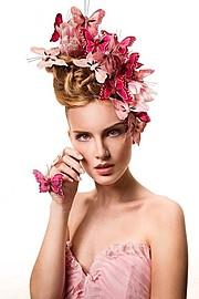 Alessia Moro model (modella). Photoshoot of model Alessia Moro demonstrating Face Modeling.Face Modeling Photo #171155