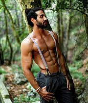 Alex Ghanem model. Photoshoot of model Alex Ghanem demonstrating Body Modeling.Body Modeling Photo #203900