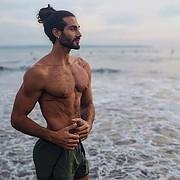 Alex Ghanem model. Photoshoot of model Alex Ghanem demonstrating Body Modeling.Body Modeling Photo #219034