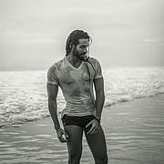 Alex Ghanem model. Photoshoot of model Alex Ghanem demonstrating Body Modeling.Body Modeling Photo #219039
