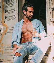 Alex Ghanem model. Photoshoot of model Alex Ghanem demonstrating Fashion Modeling.Fashion Modeling Photo #219040