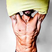 Alex Ghanem model. Photoshoot of model Alex Ghanem demonstrating Body Modeling.Body Modeling Photo #219043