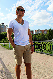 Alex Lavrov model. Photoshoot of model Alex Lavrov demonstrating Fashion Modeling.Fashion Modeling Photo #205938