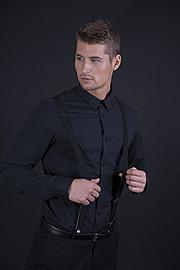 Alexander Lazarevic model. Photoshoot of model Alexander Lazarevic demonstrating Face Modeling.Face Modeling Photo #113400