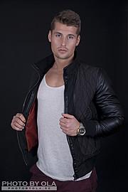 Alexander Lazarevic model. Photoshoot of model Alexander Lazarevic demonstrating Face Modeling.Face Modeling Photo #113401