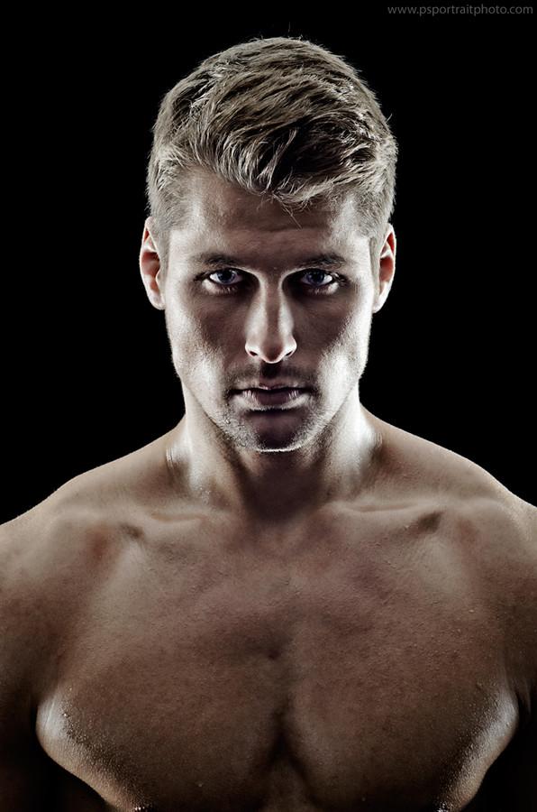 Alexander Lazarevic model. Photoshoot of model Alexander Lazarevic demonstrating Face Modeling.Face Modeling Photo #113403