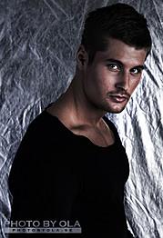 Alexander Lazarevic model. Photoshoot of model Alexander Lazarevic demonstrating Face Modeling.Face Modeling Photo #113406
