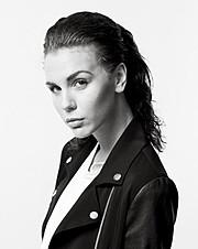 Alexandra Agro model. Photoshoot of model Alexandra Agro demonstrating Face Modeling.Face Modeling Photo #85181