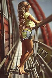 Alexandra Lovchinovskaya model (модель). Photoshoot of model Alexandra Lovchinovskaya demonstrating Fashion Modeling.Fashion Modeling Photo #129085