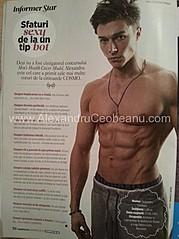 Alexandru Ceobanu fitness model. Modeling work by model Alexandru Ceobanu. Photo #94638