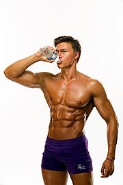 Alexandru Ceobanu fitness model. Photoshoot of model Alexandru Ceobanu demonstrating Body Modeling.Body Modeling Photo #94653