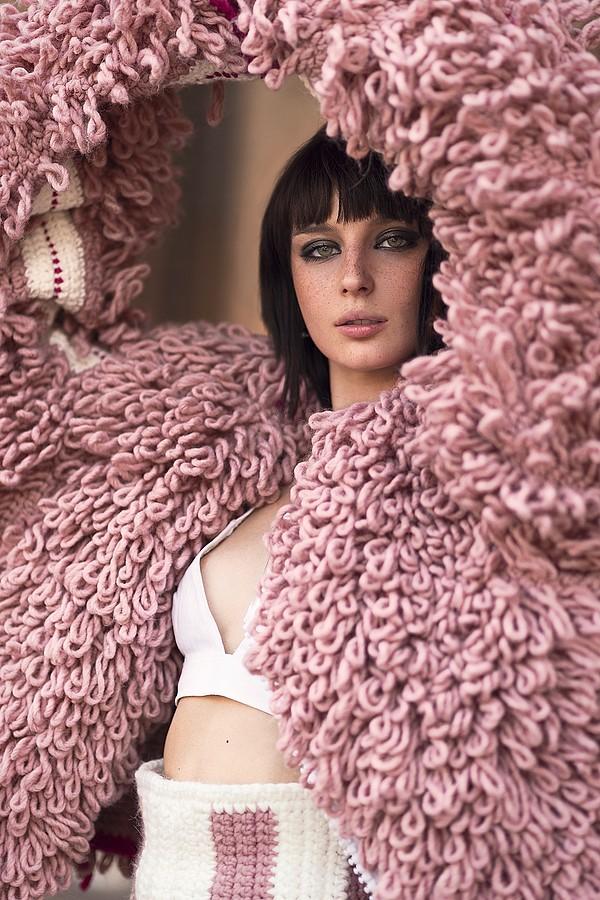 Alice Pagani model & actress. Photoshoot of model Alice Pagani demonstrating Face Modeling.model: Alice PaganiFashion Photography,Face Modeling Photo #171825