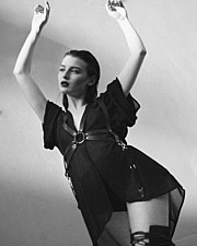 Alice Pagani model & actress. Photoshoot of model Alice Pagani demonstrating Fashion Modeling.Fashion Modeling Photo #171828