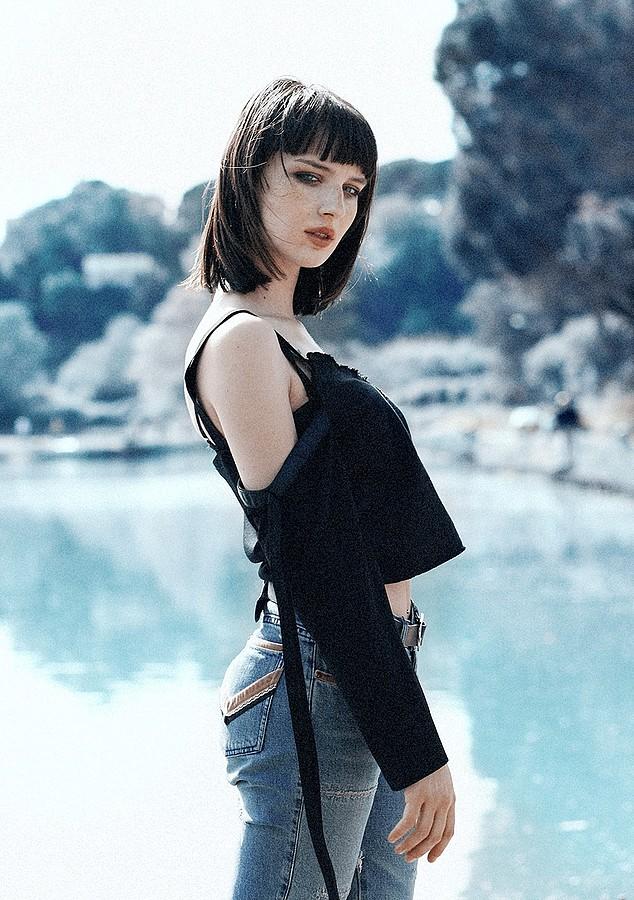 Alice Pagani model & actress. Photoshoot of model Alice Pagani demonstrating Fashion Modeling.Fashion Modeling Photo #171829