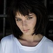 Alice Pagani model & actress. Photoshoot of model Alice Pagani demonstrating Face Modeling.Face Modeling Photo #171831