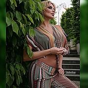 Alina Ilina model & fashion designer (модель & модельер). Photoshoot of model Alina Ilina demonstrating Fashion Modeling.Fashion Modeling Photo #163031