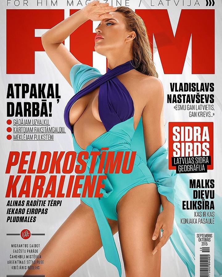 Alina Ilina model & fashion designer (модель & модельер). Photoshoot of model Alina Ilina demonstrating Editorial Modeling.Magazine CoverEditorial Modeling Photo #163034