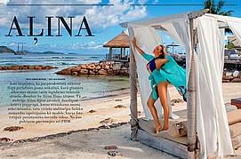 Alina Ilina model & fashion designer (модель & модельер). Photoshoot of model Alina Ilina demonstrating Editorial Modeling.Editorial Modeling Photo #163037