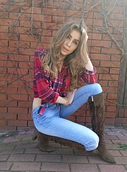 Alina Marynych model (modelka). Photoshoot of model Alina Marynych demonstrating Fashion Modeling.Fashion Modeling Photo #180499