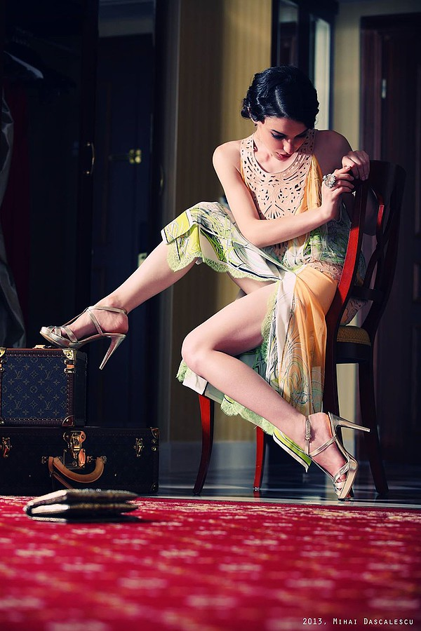 Alina Simota model. Photoshoot of model Alina Simota demonstrating Editorial Modeling.Editorial Modeling Photo #94622