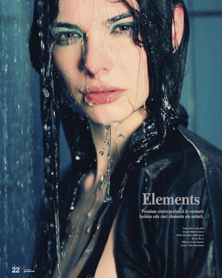 Alina Simota model. Photoshoot of model Alina Simota demonstrating Face Modeling.Face Modeling Photo #94630