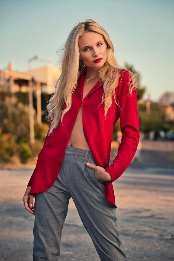 Alona Lavrentidou model (μοντέλο). Photoshoot of model Alona Lavrentidou demonstrating Fashion Modeling.Fashion Modeling Photo #231345
