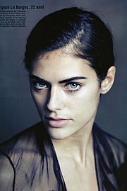 Mega Hamburg modeling agency (modellagentur), Alyson Le Borges model (modell). Modeling work by model Alyson Le Borges. Photo #55704