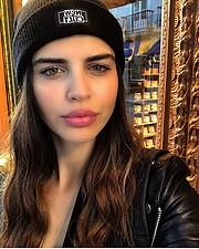Amalia Markouizou model (Αμαλία Μαρκουίζου μοντέλο). Photoshoot of model Amalia Markouizou demonstrating Face Modeling.Face Modeling Photo #228474