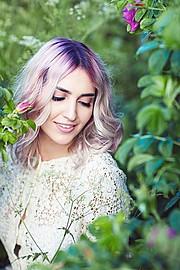 Amanda Mastori model (μοντέλο). Photoshoot of model Amanda Mastori demonstrating Face Modeling.Face Modeling Photo #186284