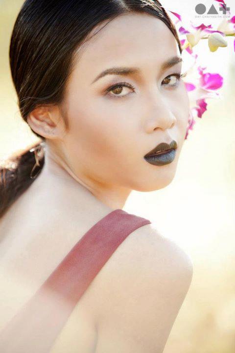 Work by makeup artist Amata Chittasenee demonstrating Beauty Makeup ...