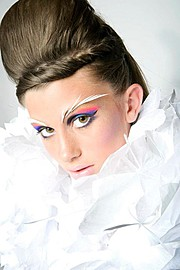 Amber Bosarge Lord hair stylist. hair by hair stylist Amber Bosarge Lord.Creative Makeup Photo #58638