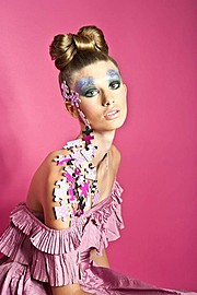 Amber Bosarge Lord hair stylist. hair by hair stylist Amber Bosarge Lord.Creative Makeup Photo #58640