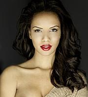 Amina Malakona model. Photoshoot of model Amina Malakona demonstrating Face Modeling.Face Modeling Photo #75428
