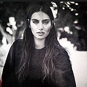 Amine Gulse (Amine Gülşe) model. Photoshoot of model Amine Gulse demonstrating Face Modeling.Face Modeling Photo #113179
