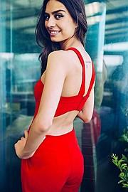 Amine Gulse (Amine Gülşe) model. Photoshoot of model Amine Gulse demonstrating Fashion Modeling.Fashion Modeling Photo #113187