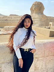Aml Sabry model. Photoshoot of model Aml Sabry demonstrating Fashion Modeling.Fashion Modeling Photo #231861