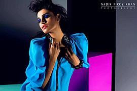 Amna Ilyas model & actress. Photoshoot of model Amna Ilyas demonstrating Face Modeling.Face Modeling Photo #121372