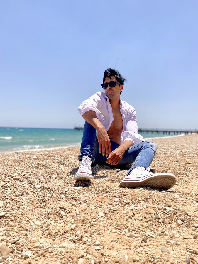Amr Helmy model. Photoshoot of model Amr Helmy demonstrating Fashion Modeling.Fashion Modeling Photo #233076