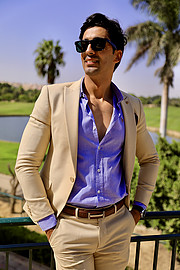 Amr Helmy model. Photoshoot of model Amr Helmy demonstrating Fashion Modeling.Fashion Modeling Photo #233081