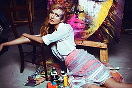 Ana Kuni model & artist. Modeling work by model Ana Kuni. Photo #145095