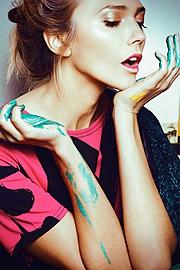 Ana Kuni model & artist. Modeling work by model Ana Kuni. Photo #145097