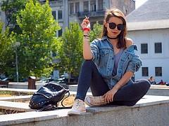 Ana Maria Fulga model. Photoshoot of model Ana Maria Fulga demonstrating Fashion Modeling.Fashion Modeling Photo #204110